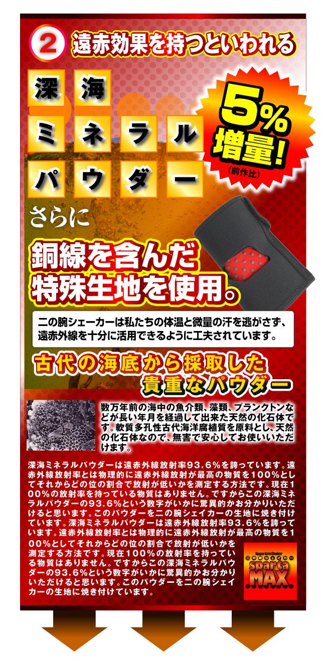 二の腕シェイカー spartaMax販促Webページ